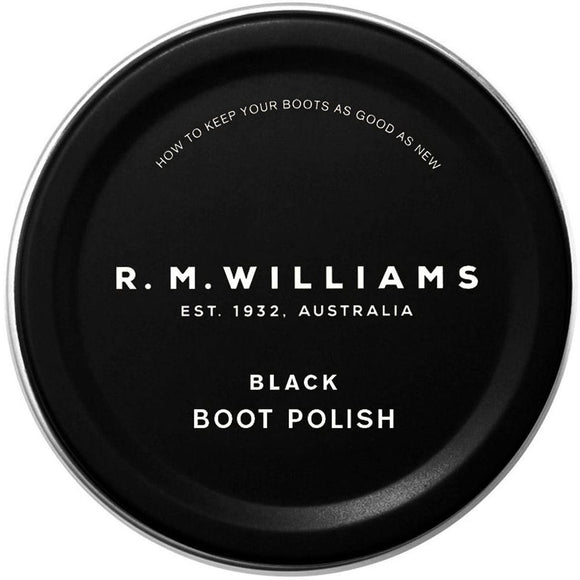 R M Williams Boot Polish - Black