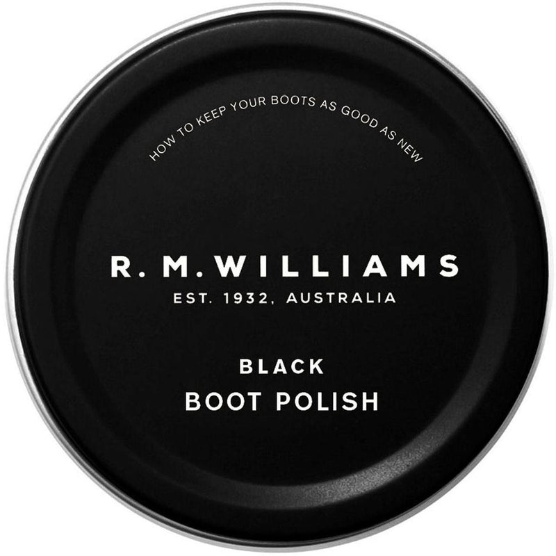 R M Williams Boot Polish - Black - Livingston - Castle Douglas