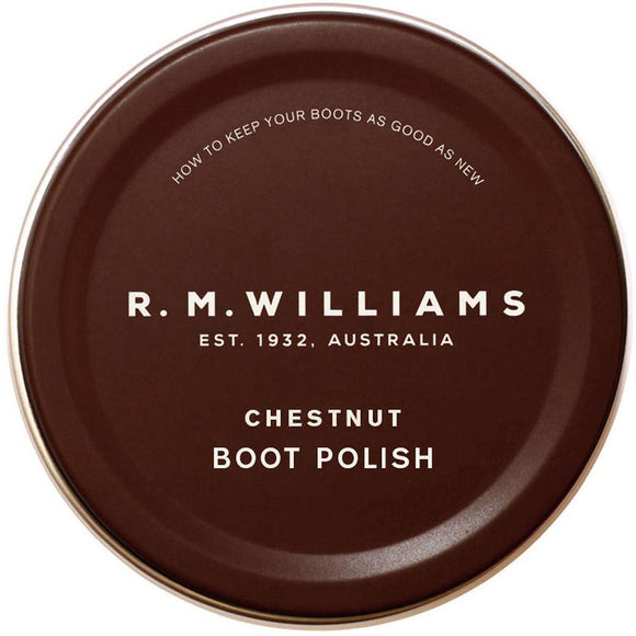 R M Williams Boot Polish - Chestnut