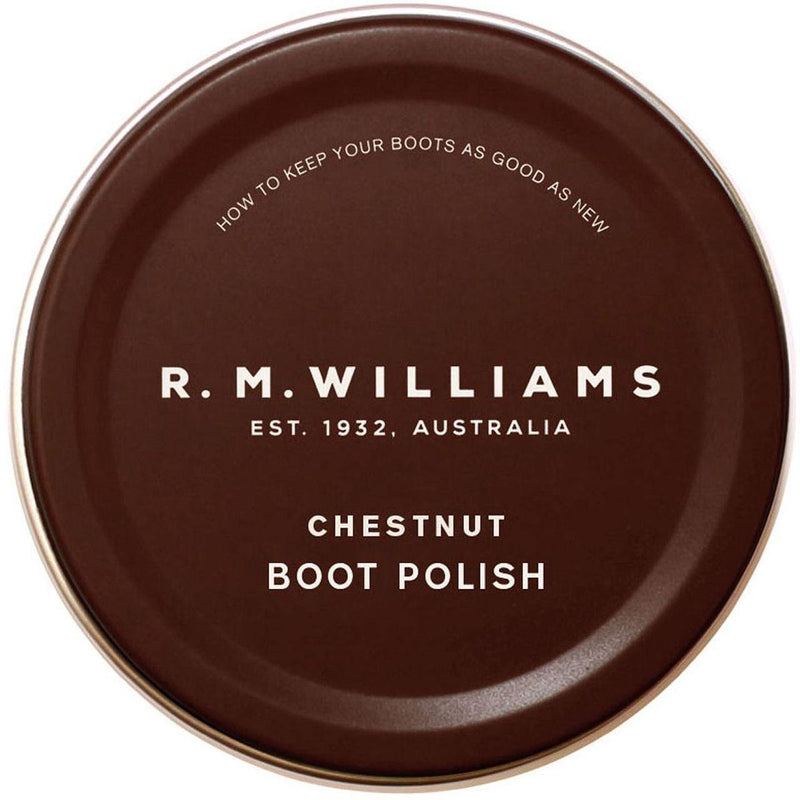 R M Williams Boot Polish - Chestnut - Livingston - Castle Douglas