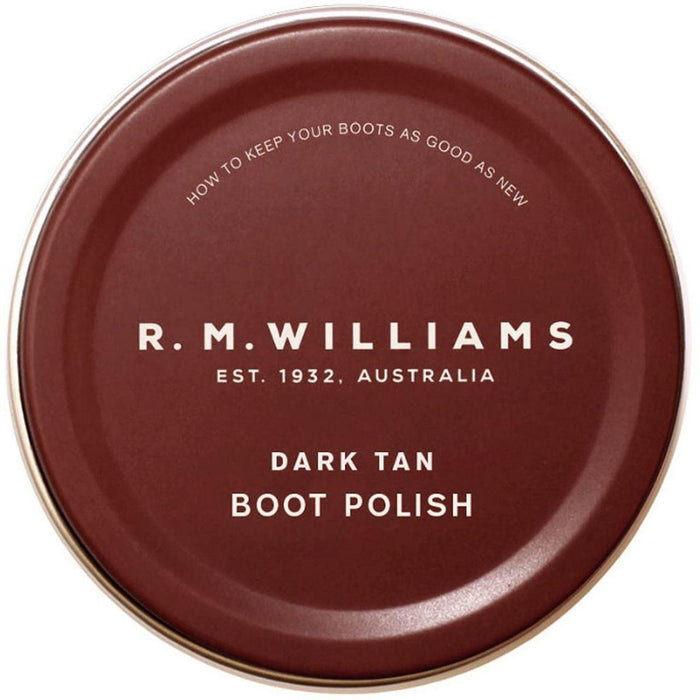 R M Williams Boot Polish - Dark Tan