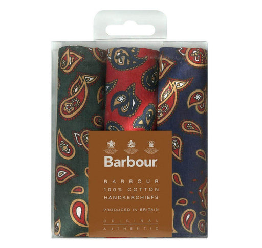 Barbour Paisley Handkerchiefs - Multi - Livingston - Castle Douglas
