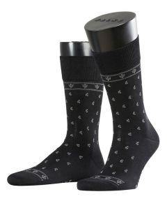 Falke Pasha Cotton Socks - Black