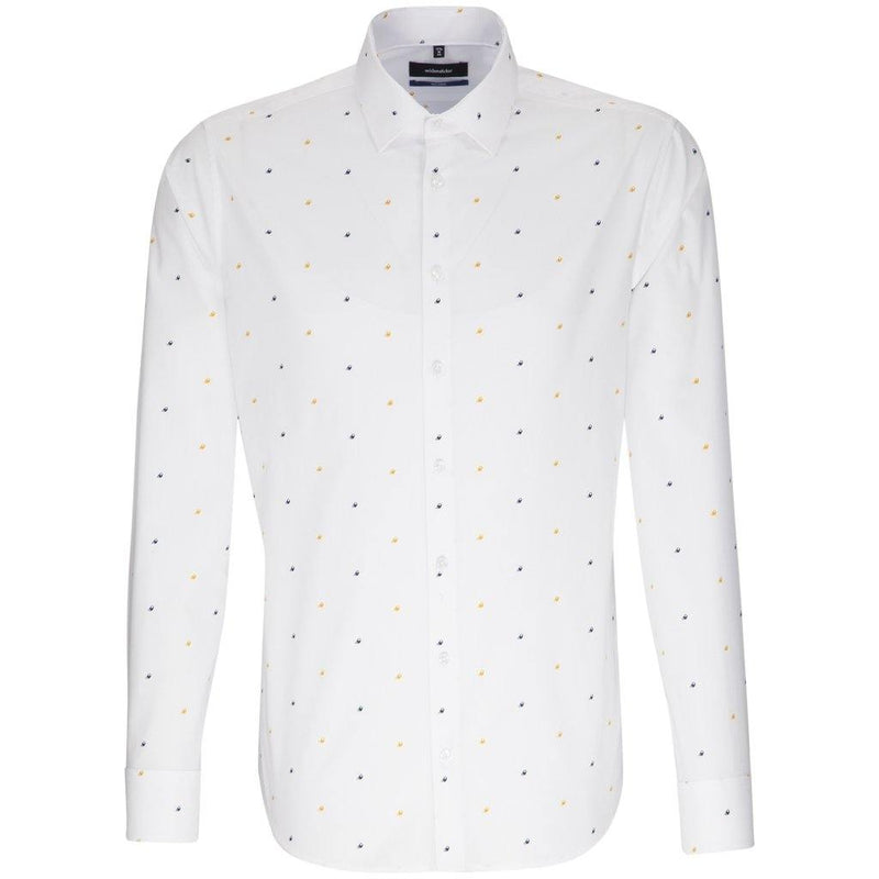 Seidensticker Print Shirt - Seashells - Livingston - Castle Douglas