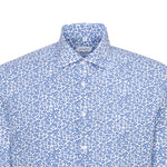 Print Shirt - White/Royal