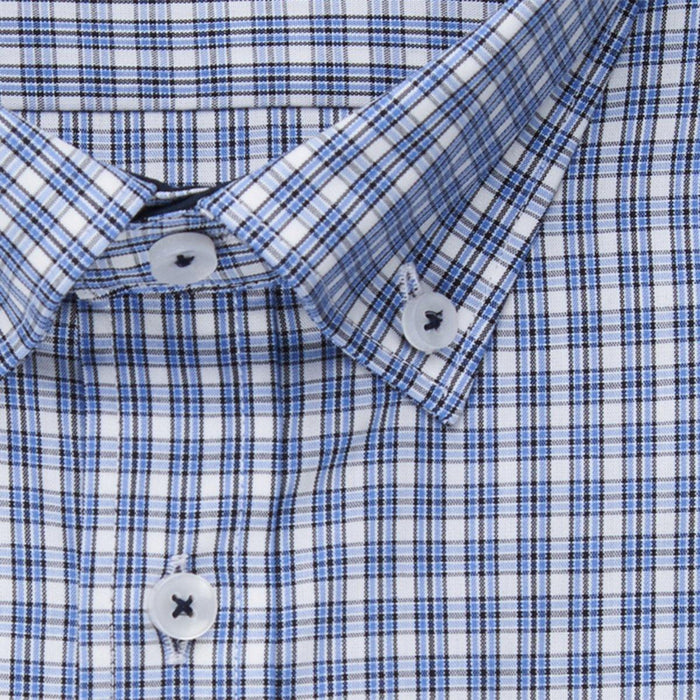 Seidensticker Fine Check Shirt - Blue