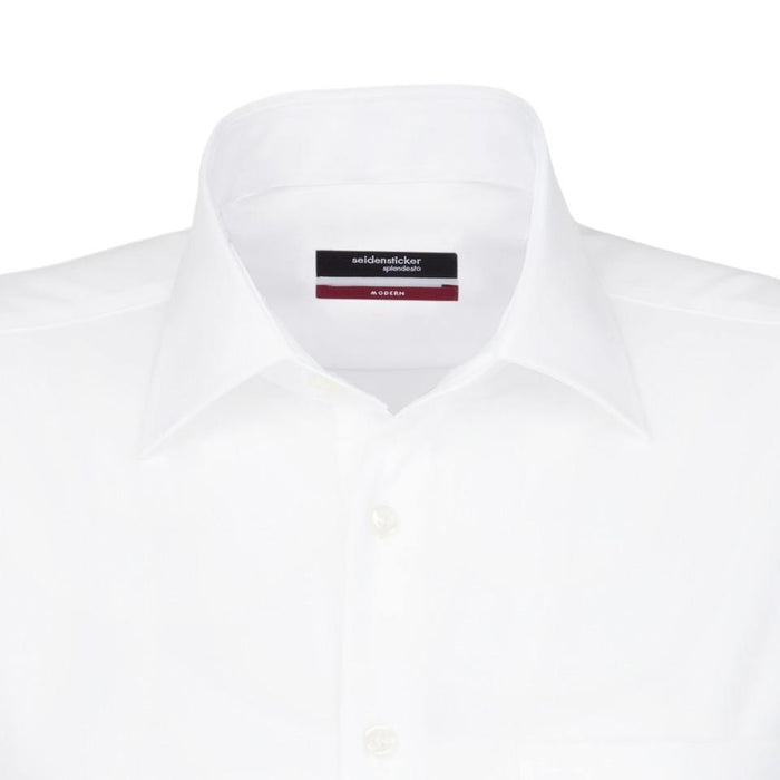 Seidensticker Double Cuff Shirt - White