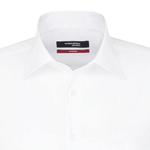 Seidensticker Shirt - White - Livingston - Castle Douglas