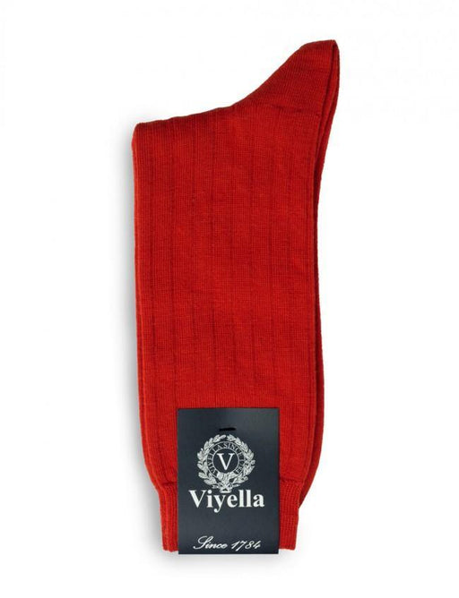 Viyella Wool Mix Sock - Poppy - Livingston - Castle Douglas