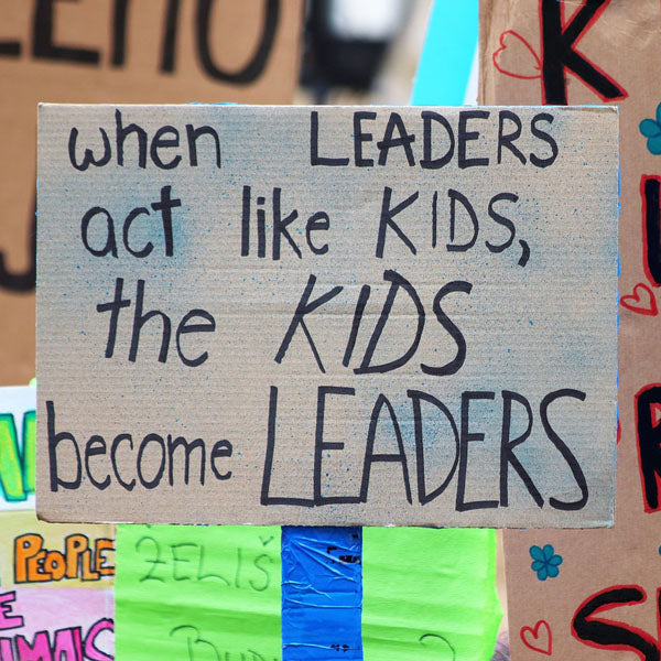 When leaders act like kids, the kids become leaders