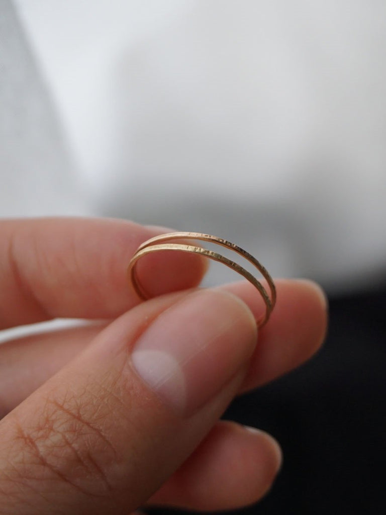 14k Barely There Band
