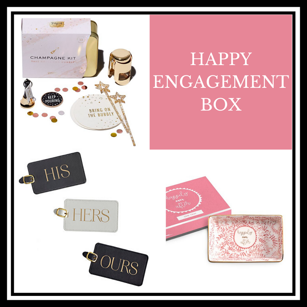 Happy Engagement Gift Box || Chapel & Fox Gift Boxes