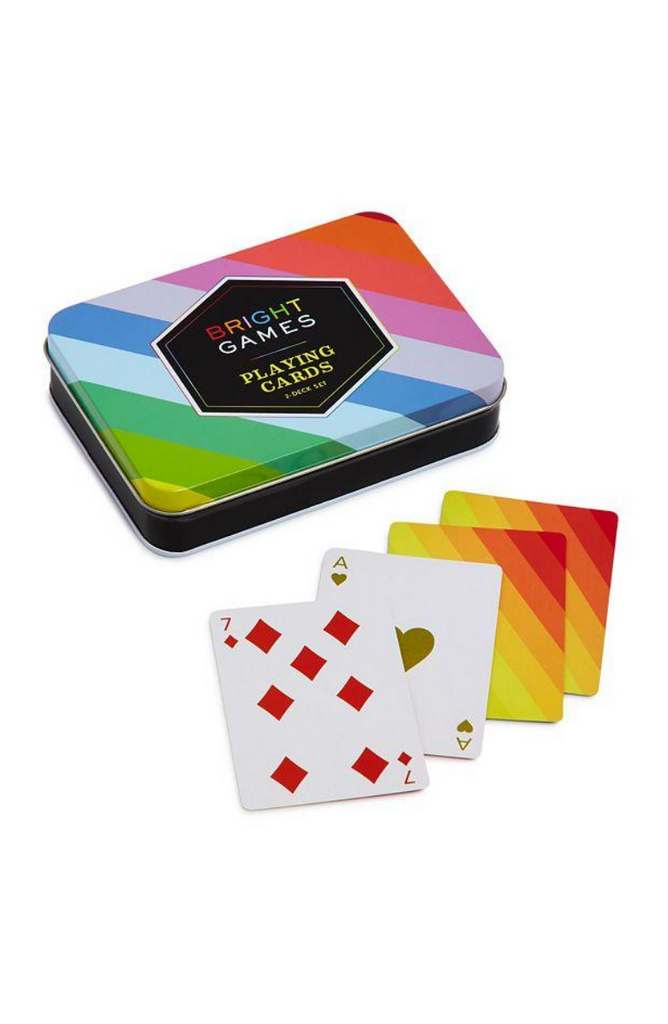 Bright Games Playing Cards || Chapel & Fox Custom Gift Boxes