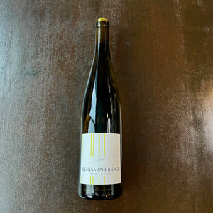 Benjamin Bridge Riesling, Gaspereau Valley, Nova Scotia, Canada 2017