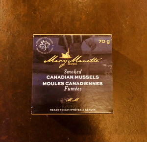 Mary Manette Smoked Canadian Mussels (sustainable) P.E.I. 70 g