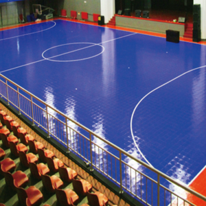 Sprung Futsal Pro Interlocking Modular Tiles - Sprung Sports Flooring