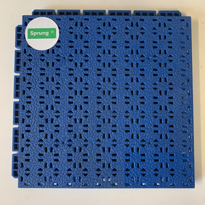 Sprung Challenger 3x3 Interlocking Modular Tiles - Sprung Sports Flooring