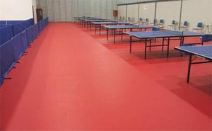 Sprung ® Sports Vinyl for Table Tennis - Sports Flooring
