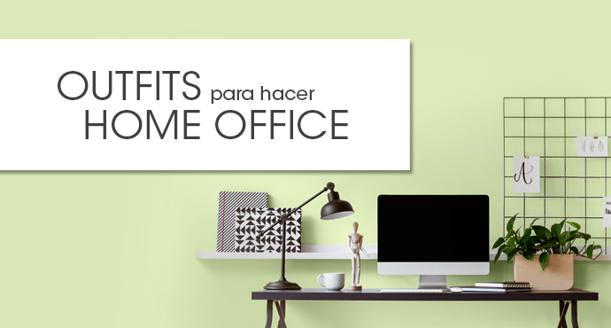 OUTFITS PARA HACER HOME OFFICE