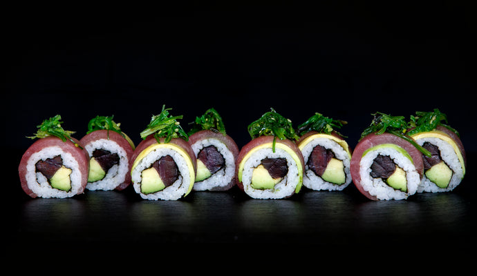 Tuna Mix (Uramaki)