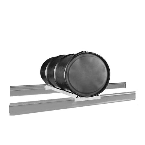 Pallet Rack Drum Cradle with 55 Gallon Drum from SaveMH
