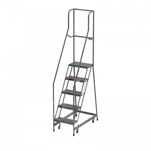 Industrial Rolling Ladder - 5 Step 24