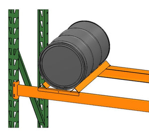 Pallet Racking with Steel Oil Drum and Drum Cradle Model DC4220 by SaveMH from EGA Products