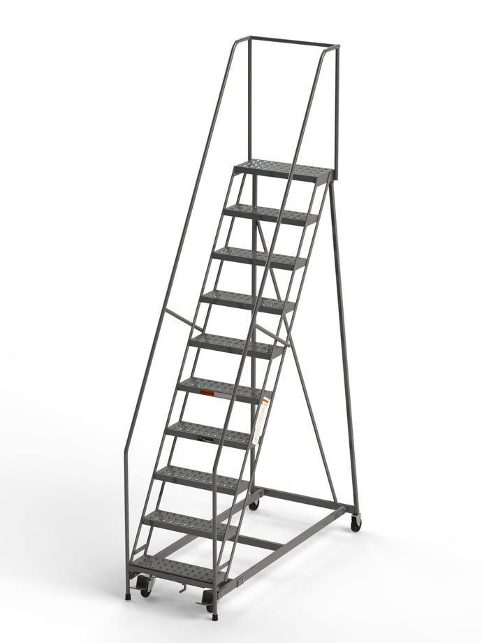 10 Step Rolling Ladder 24