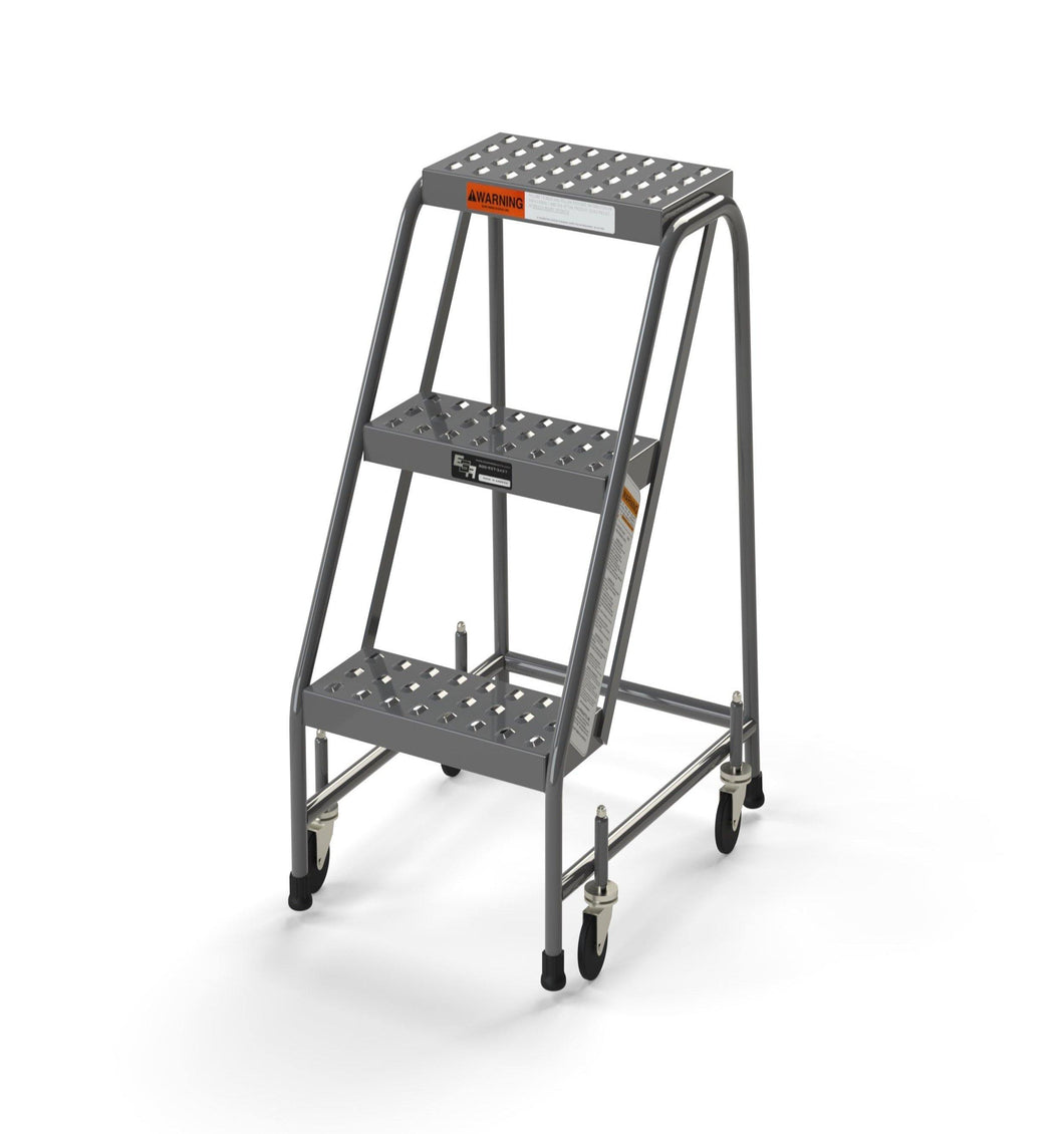 3 Step Stool Rolling Ladder 16