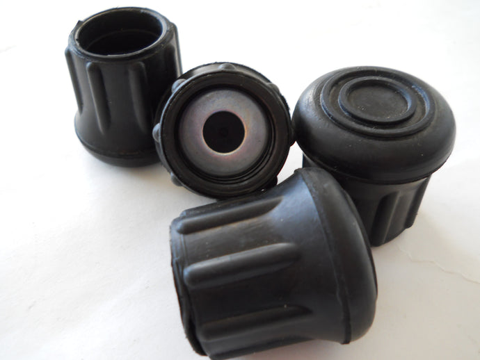 Replacement Round Rubber Tips - 4 Pack - RUBTS-R
