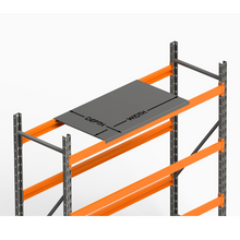 "Load image into Gallery viewer, Pallet Rack Steel Decking Die Shelf 48""D x 46""W from SaveMH"