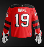 Canada 2019 World Junior - Replica Jersey (Red)