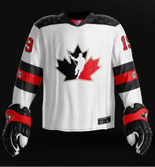 huge selection of a9b3f 896ac Canada 2019 World Junior - Replica Jersey (White)