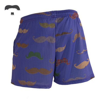 Uncommon Stache Shorts (Girls)