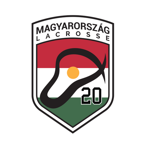 Hungary Lacrosse Car Decal