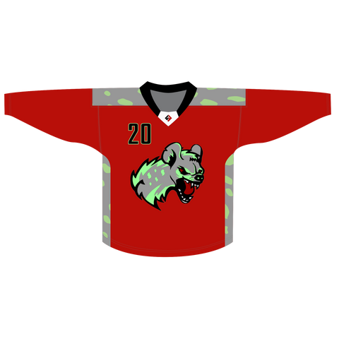 Albany Hyenas Jersey (red)