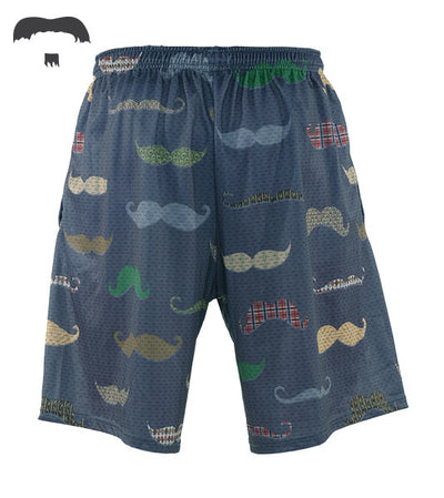 Uncommon Stache Shorts (Guys)