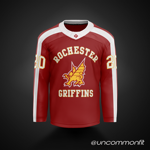 Rochester Griffins - 1974 Red - NLL
