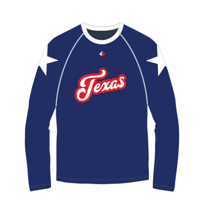 Texas Long Sleeve Performance Shirt