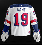 United States 2019 World Junior - Replica Jersey (White)
