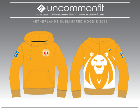 Dutch Sublimated Hoodie