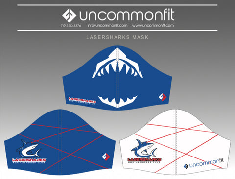 Lasershark Masks (3 Pack)