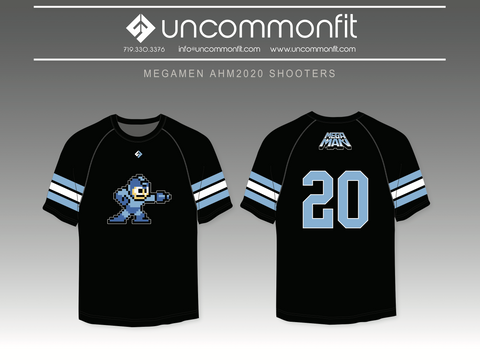 Megamen Short Sleeve Shooter