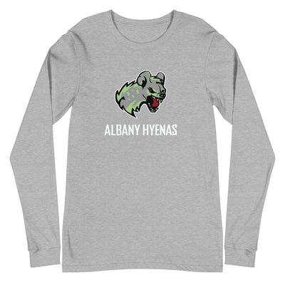 Albany Hyenas Long Sleeve T. (Multi Color Options)