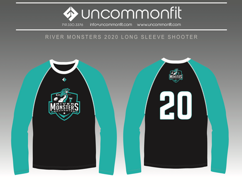 River Monsters Long Sleeve Shooter