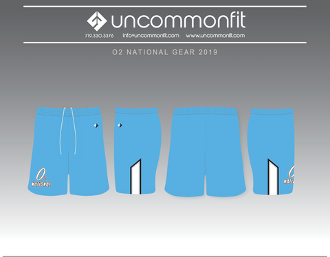 O2 National Lacrosse Shorts