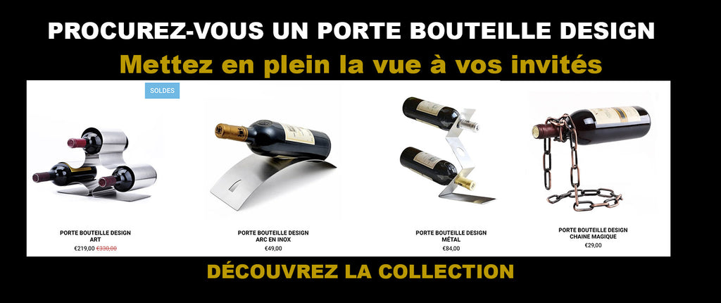 collections porte bouteille design