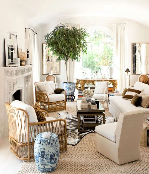 Zebra Rug Interior Design: The Neutral Allure Of Animal Print