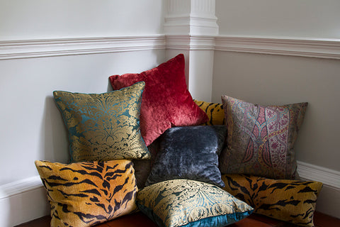 Clarence House Rossetti Mulberry Linen