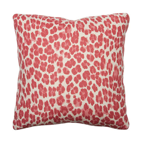 Clarence House Rose Leopard Linen